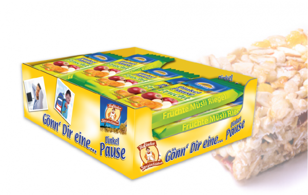 Dinkel Pause Frucht Display 15x30g