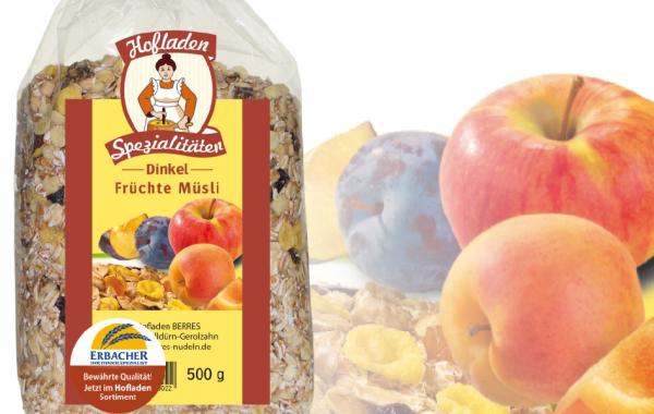 Dinkel Früchte Müsli 500g